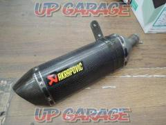 AKRAPOVIC e1 specification Slip-on muffler carbon