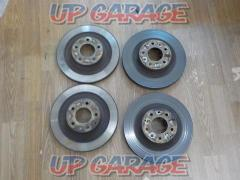 MAZDA RX-7 genuine brake rotor 17 inch front and rear set