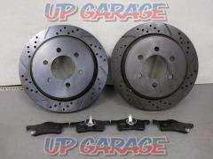 Unknown Manufacturer Rear brake rotor + Pad