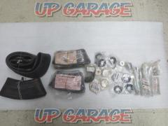 For spare parts! KAWASAKI KX65 Wheel / bearing / tube related parts set U01031