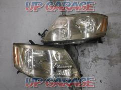 Toyota 10 system Alphard V Previous period Genuine headlight Left and right set