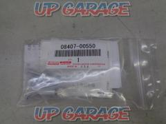 TOYOTA (Toyota) Number plate lock bolt Part number 08407-0050