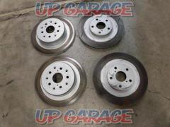 Unknown Manufacturer Brake rotor (with front slit) front and rear set Supra JZA80 For cars with 17-inch counter-brake calipers