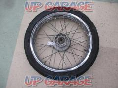 KAWASAKI Genuine front wheel