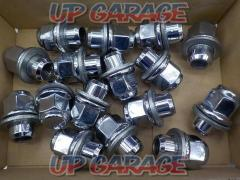 TOYOTA Set of 16 genuine flat seat nuts