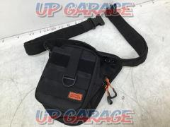DOPPELGANGER [DBT568] Riders holster back 2 (Black) 1 piece
