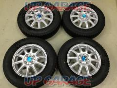 Stock disposal special price !! TOPY VENTO2 + GOODYEAR (Goodyear) ICENAVI6