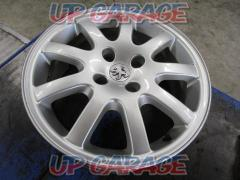 Imported car (Pure parts of imported automobile) Peugeot 206 original wheel Wheel only four