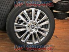 Toyota original (TOYOTA) 60 Harrier Late Premium Package Original wheel + BRIDGESTONE (Bridgestone) ECOPIA H / L 422 PLUS