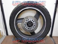 8KAWASAKI ZRX400 genuine rear tire wheel