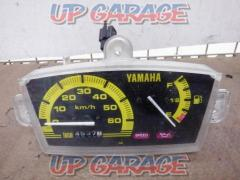 1YAMAHA Super JOG-ZR genuine speed meter