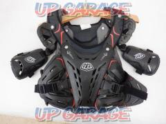 Right shoulder back without bolts Troy Lee Designs Chest protector CP5955 M size