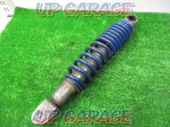 Remove from address V100 SUZUKI genuine Rear suspension Deep blue
