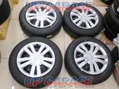 Undelivered product! Honda FIT genuine steel wheel + BRIDGESTONE ECOPIA EP150