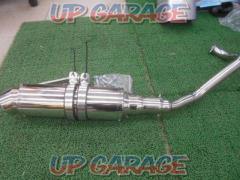 [PCX125] Unknown Manufacturer Stainless steel custom muffler