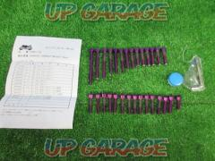 DURA-BOLT (Dura volts) DBE178 Engine cover bolt purple CB400SF / SB (NC42)