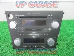 SUBARU Legacy Touring Wagon BP5 Atypical audio with built-in late 6-CD CD changer (KENWOOD (GX-204JE)
