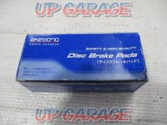 AKEBONO Front disc brake pads Part number: AN-675 WK Wingroad / Y12 Cube / Z11 Tiida Latio / C11 Notes / E11 March / K12]