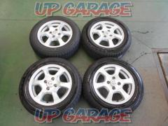 Nissan original (NISSAN) Notes original wheel + BRIDGESTONE (Bridgestone) ECOPIa NH100C
