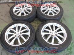 Nissan original (NISSAN) V35 Skyline genuine Spoke wheels + YOKOHAMA (Yokohama) ECOS ES31