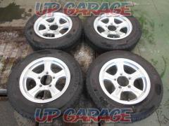 Unknown Manufacturer Five-spoke wheel + YOKOHAMA (Yokohama) GEOLANDAR CV G058
