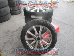 HOT STUFF(ホットスタッフ) Exsteer(エクスター) PLUS ONE + YOKOHAMA(ヨコハマ) ice GUARD iG50 PLUS 165/60R15