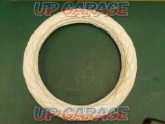 Unknown Manufacturer Steering Cover white