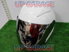 Size XXL NEO RIDERS Jet helmet FZ-6 With mirror shield white