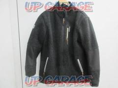 Size: 3XL KOMINE (Komine) JK-554 Warm wool jacket Gray