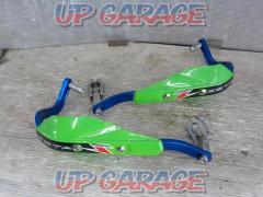ZETA Hand guard Aluminum blue x green Right and left General purpose