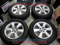 Toyota Harrier original wheel + NANKANG GREEN / SPORT