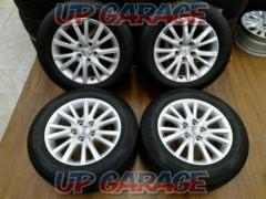 Toyota original (TOYOTA) GRX130 / Mark X Mid-term type Original wheel + DUNLOP ENASAVE EC203