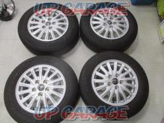 Toyota original (TOYOTA) Voxy / 80 series previous term genuine wheel + BRIDGESTONE (Bridgestone) ECOPIa EP150