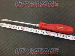 Snap-On Flat-blade screwdriver Red grip SDD6