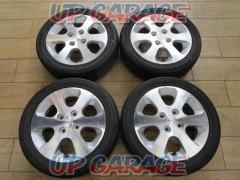 Mazda genuine (MAZDA) AZ Wagon / MJ21S Genuine Wheel + GOODYEAR (Goodyear) LS2000 Hybrid II (manufactured in 2017)