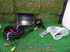 7 inches On-dash monitor rear view camera set