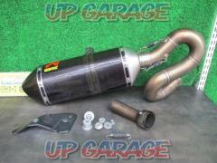 AKRAPOVIC (Akurapo Vittorio h) Carbon slip-on silencer CBR1000RR (SC59) ('14 removed)