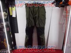 Size XL KOMINE (Komine) 07-910 Flight cargo over pants Color Green