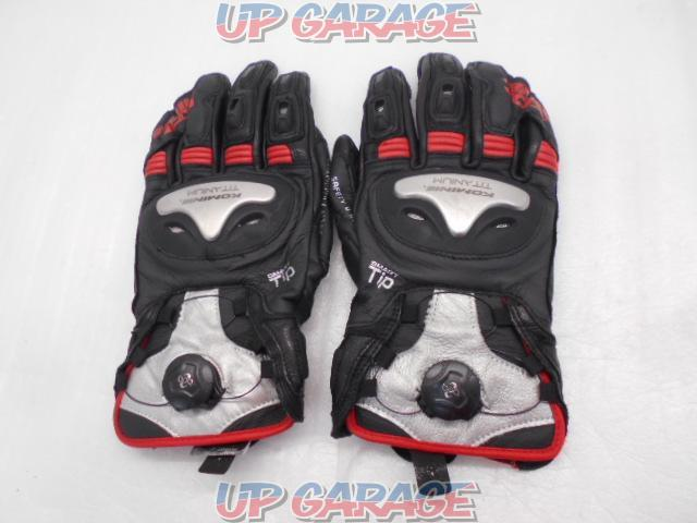 KOMINE Titanium Sports gloves Boa-01