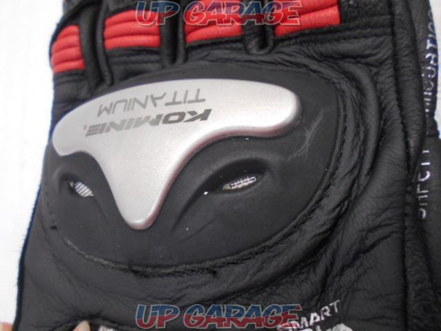 KOMINE Titanium Sports gloves Boa-07