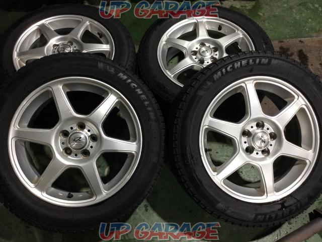 weds (Weds) DEGNER 6-spoke + MICHELIN (Michelin) X-ICE XI 3 + 205 / 55-16 4 pieces set-01