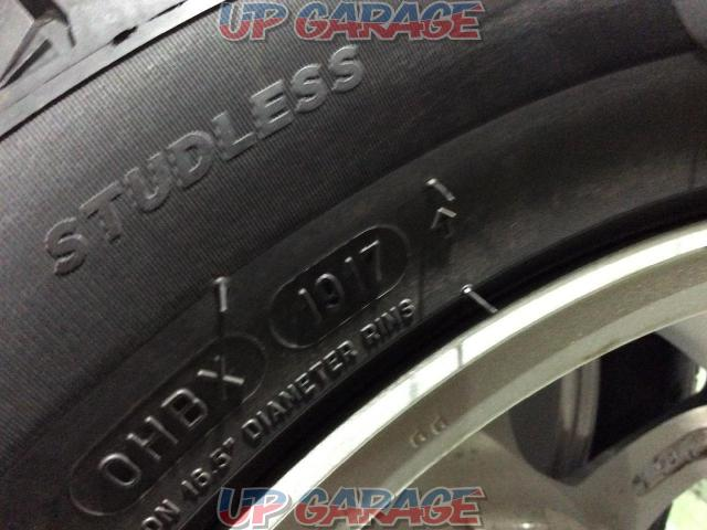weds (Weds) DEGNER 6-spoke + MICHELIN (Michelin) X-ICE XI 3 + 205 / 55-16 4 pieces set-07