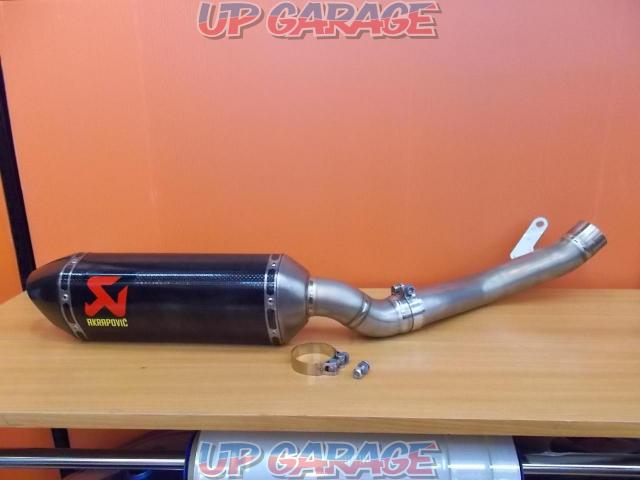 Price Cuts! AKRAPOVIC (Akurapo Vittorio h) Slip on silencer & intermediate pipe ZX-10R-01