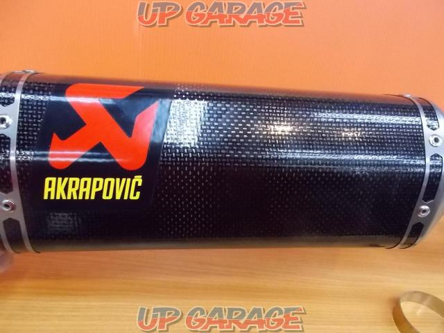 Price Cuts! AKRAPOVIC (Akurapo Vittorio h) Slip on silencer & intermediate pipe ZX-10R-02