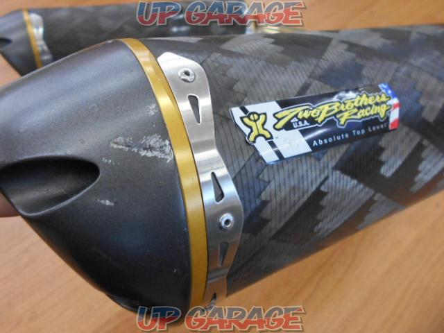 ▼ Two Brothers Racing Dual slip-on muffler-04