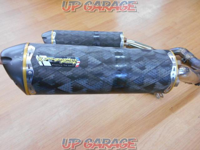 ▼ Two Brothers Racing Dual slip-on muffler-10