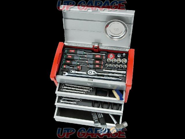 値 Price Cuts! KTC (Katy Shi) KTC SK4580E Tool Set (chest type) 59 points-01