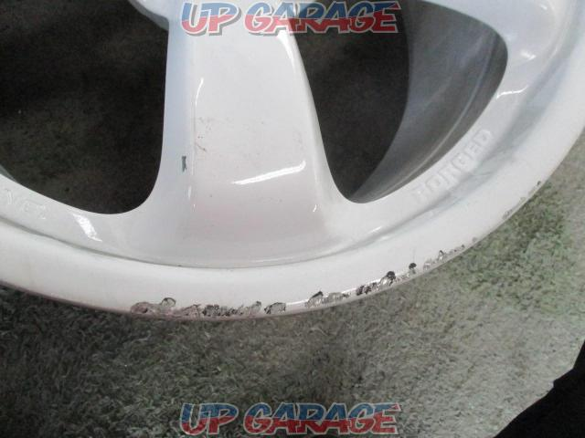 Nissan original (NISSAN) Fairlady Z verNISMO Original wheel Four rear size-02