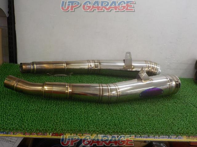 TSUKIGI TR Exhaust System Slip-on Moonlight Megaphone GSX 1300 R Hayabusa ('08-)-01