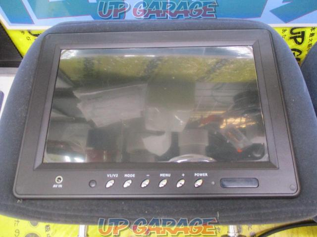 Unknown Manufacturer Headrest monitor (Screen 9 inches) Right and left-03